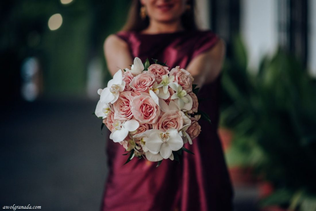 AWOL Granada, Wedding Planner, Spain - The Bridal Bouquet