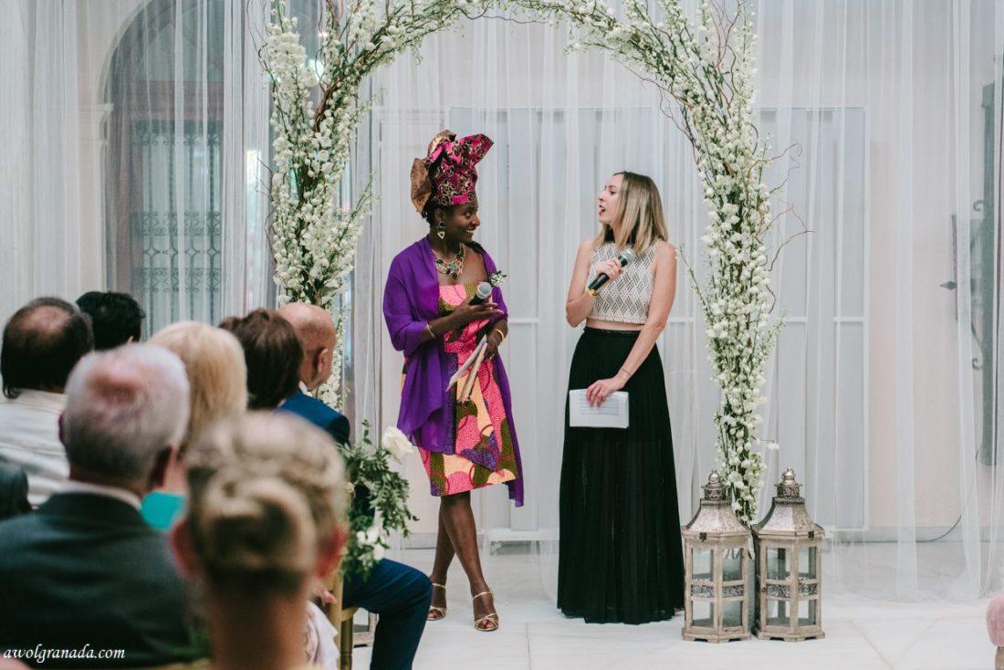 AWOL Granada, Wedding Planners, Spain - The celebrants