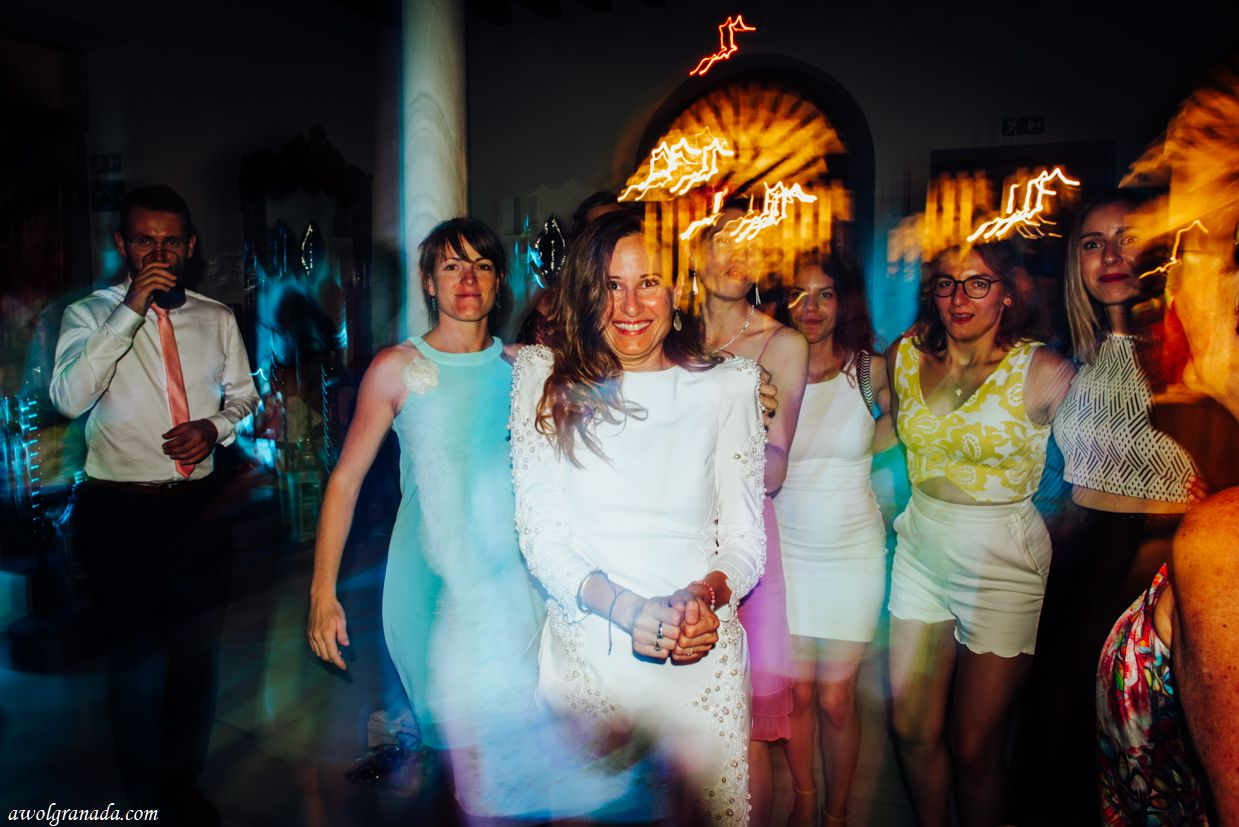 AWOL Granada, Wedding Planners, Spain - First Dance - The final wedding dress