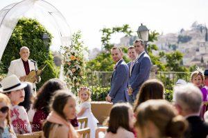 AWOL Granada - The Groom awaiting his bride