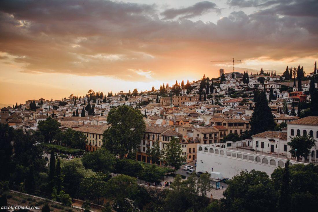AWOL Granada, Wedding Planner, Spain - Views from Carmen de los Chapiteles