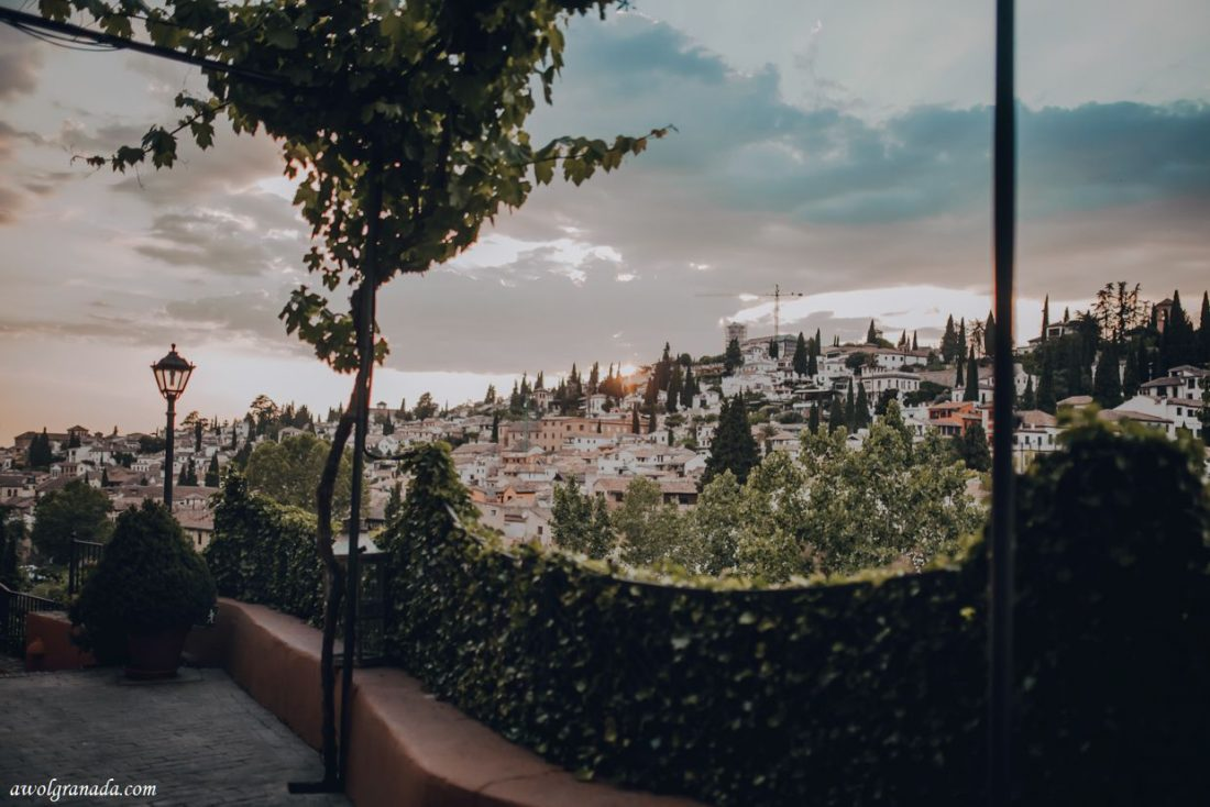 AWOL Granada, Wedding Planners, Spain - Views from Carmen de los Chapiteles