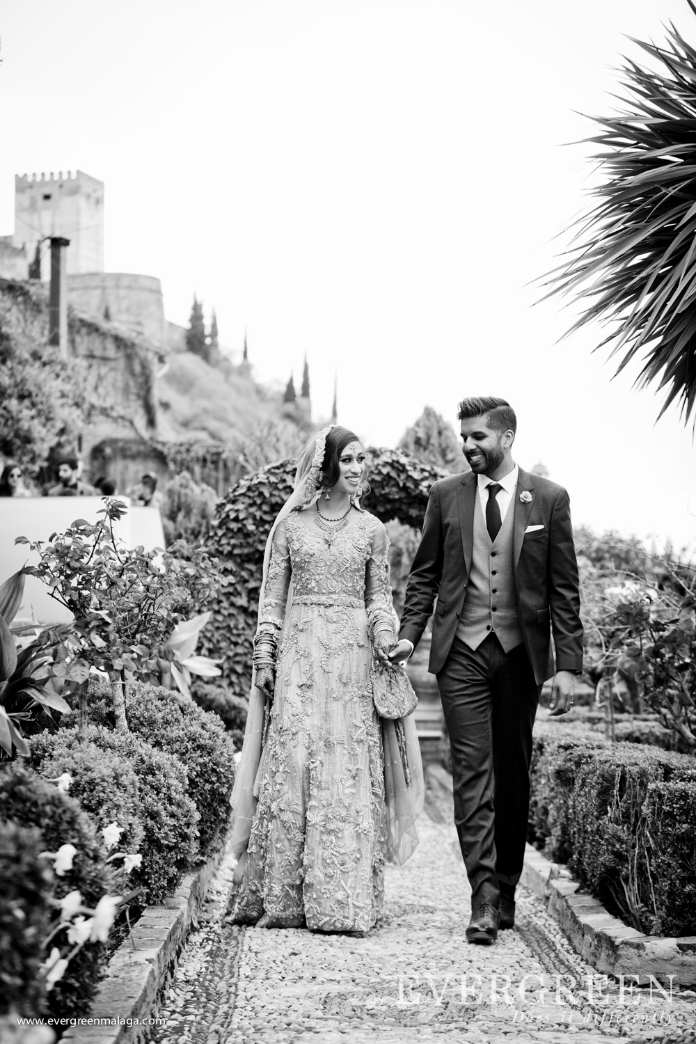AWOL Granada, Wedding Planner, Spain, Indian Wedding, Carmen de los Chapiteles