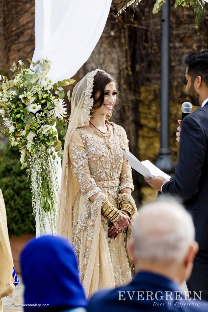 AWOL Granada, Wedding Planner, Spain, Indian Wedding Ceremony