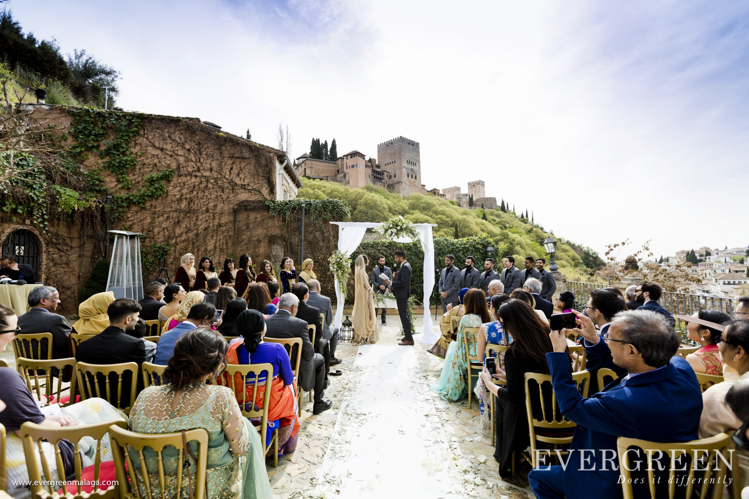 AWOL Granada, Wedding Planner, Spain, Indian Wedding Ceremony, Chapiteles