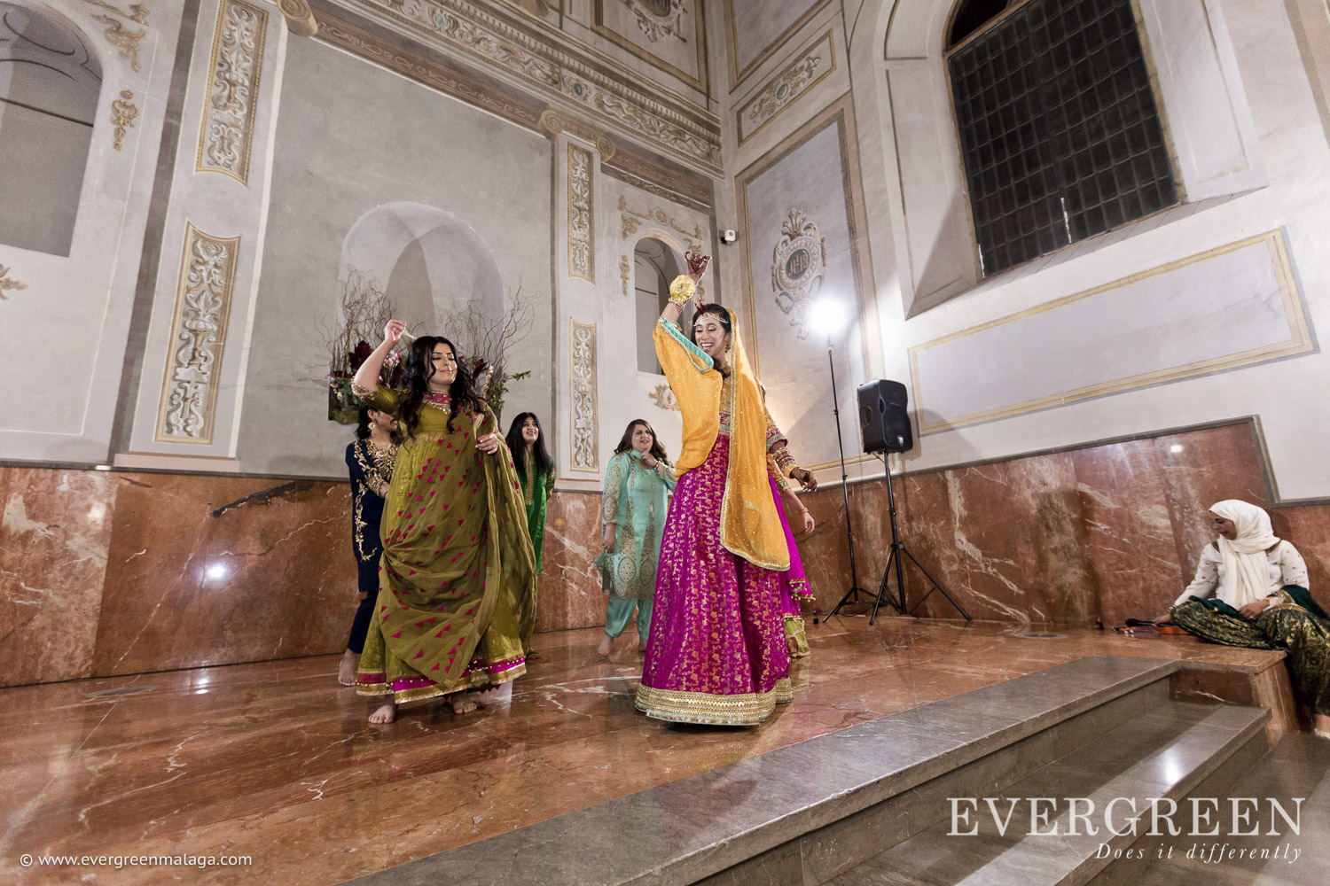 AWOL Granada, Wedding Planner, Spain, Indian Wedding Ceremony, Henna Night, Guest Performances