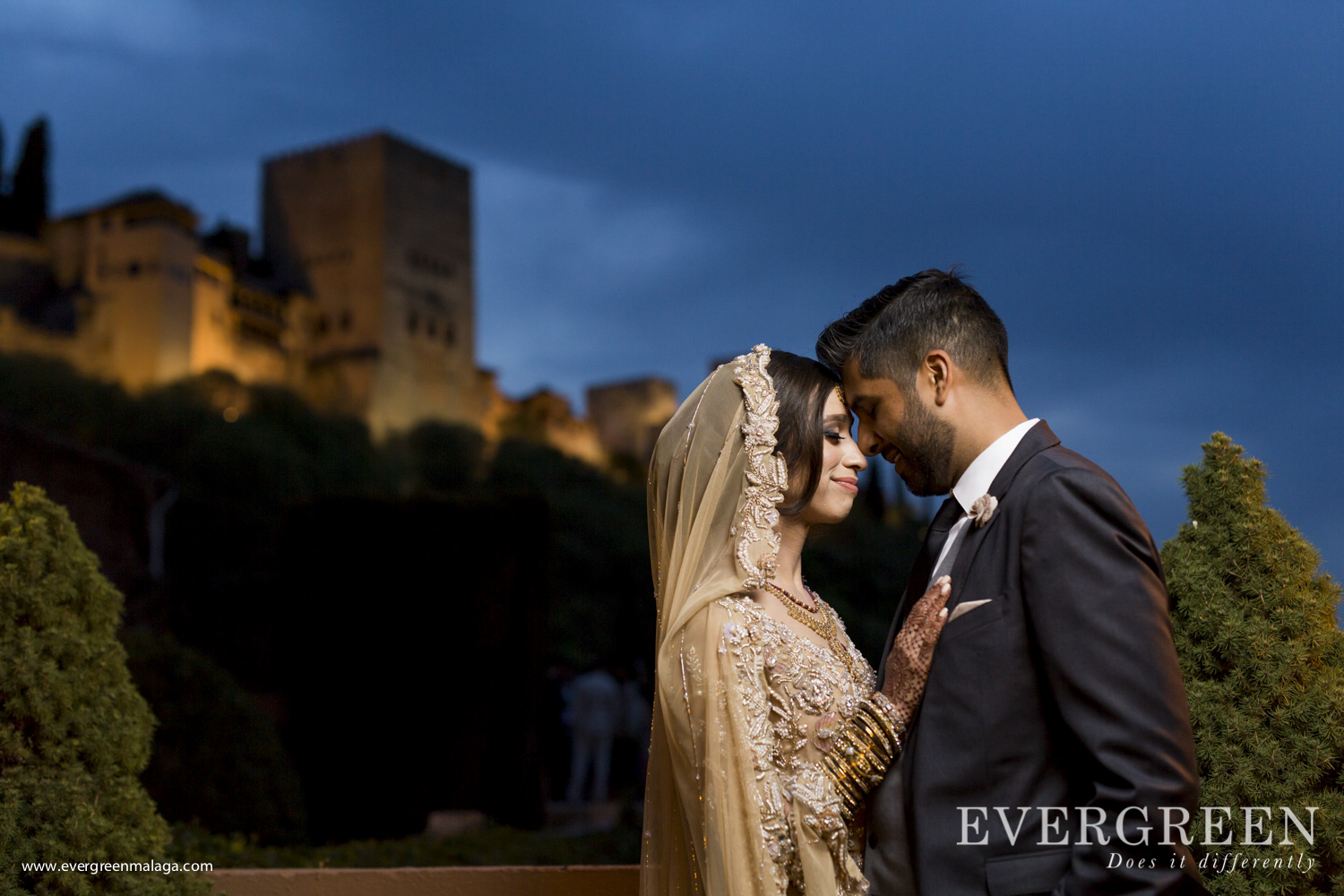 AWOL Granada, Wedding Planner, Spain, Indian Wedding, Destination Wedding, Alhambra