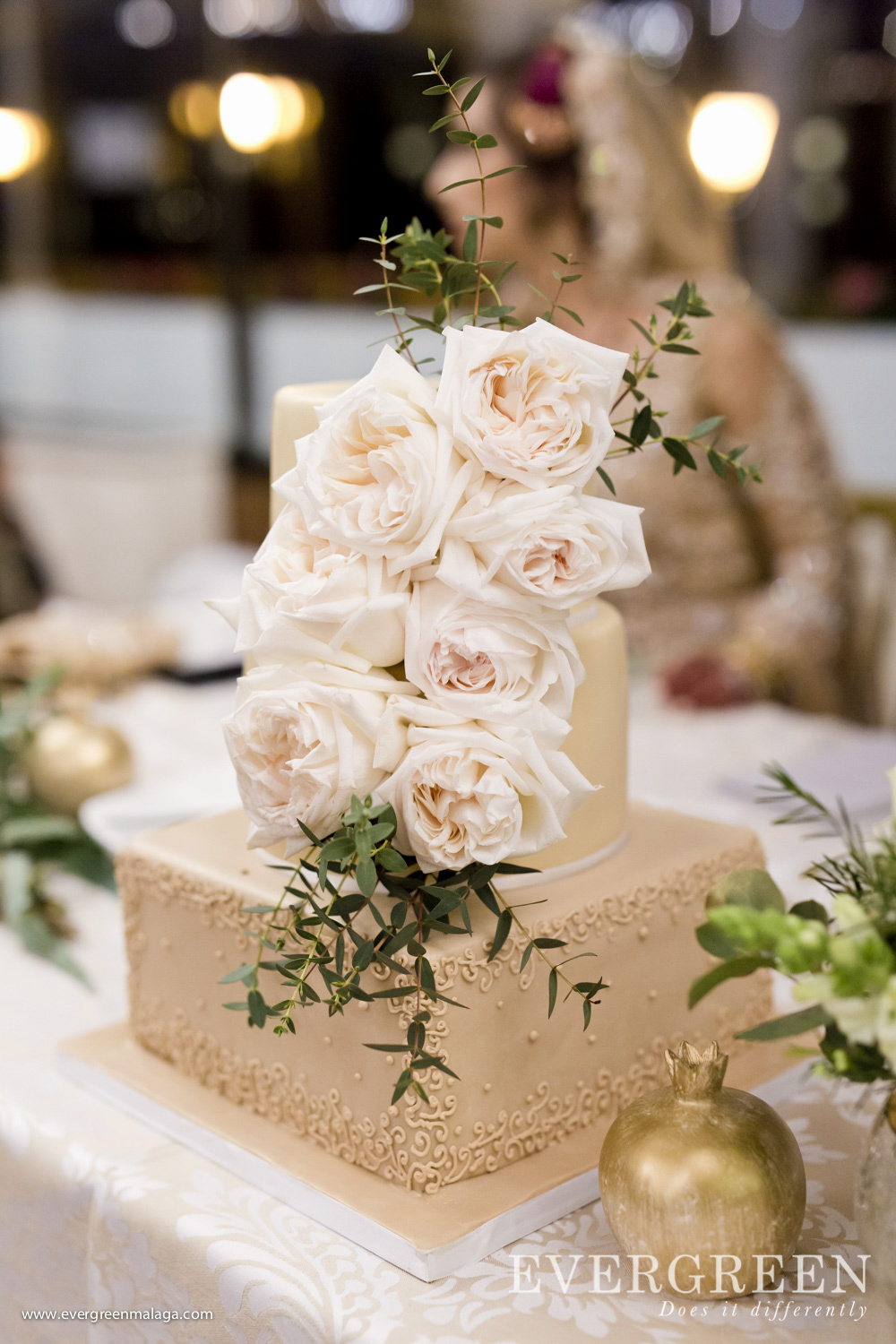 AWOL Granada, Wedding Planner, Spain, The Wedding Cake