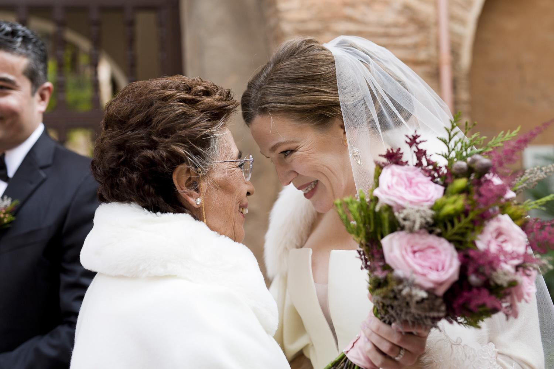 AWOL Granada, Wedding Planners, Spain, Parador de Granada, Bridal Bouquet