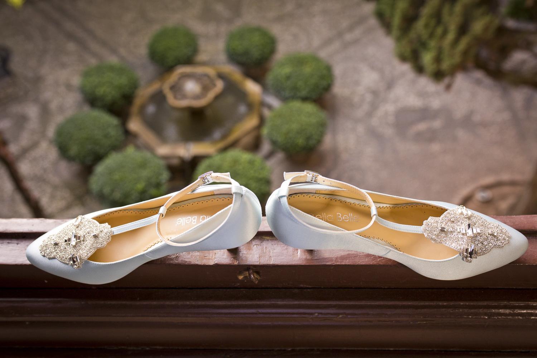 AWOL Granada, Wedding Planners, Spain, Parador de Granada, Bridal Shoes