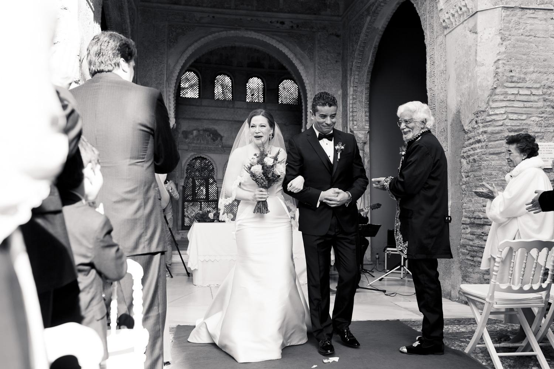 AWOL Granada, Wedding Planners, Spain, Parador de Granada, Just Married