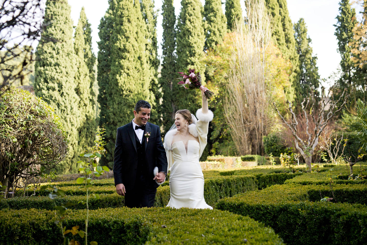 AWOL Granada, Wedding Planners, Spain, Parador de Granada, Photos in the Alhambra Gardens