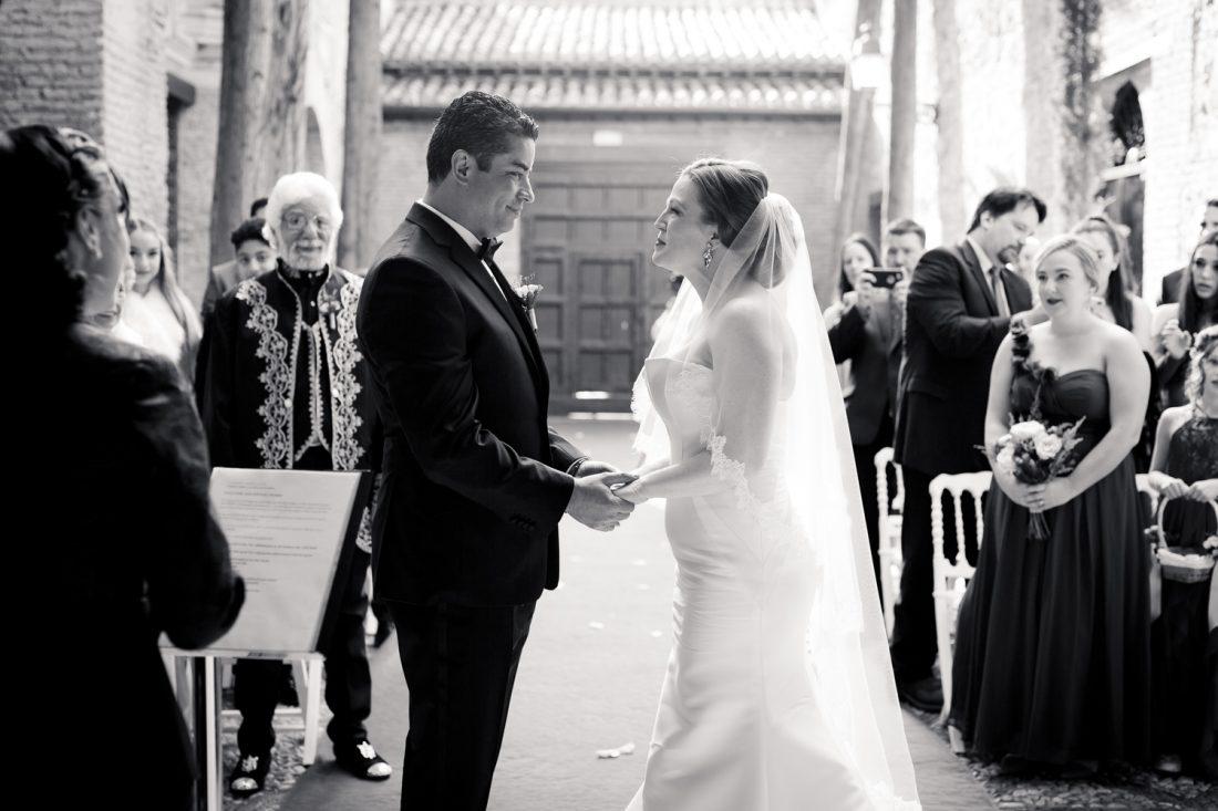 WOL Granada, Wedding Planners, Spain, Parador de Granada, The Wedding Ceremony