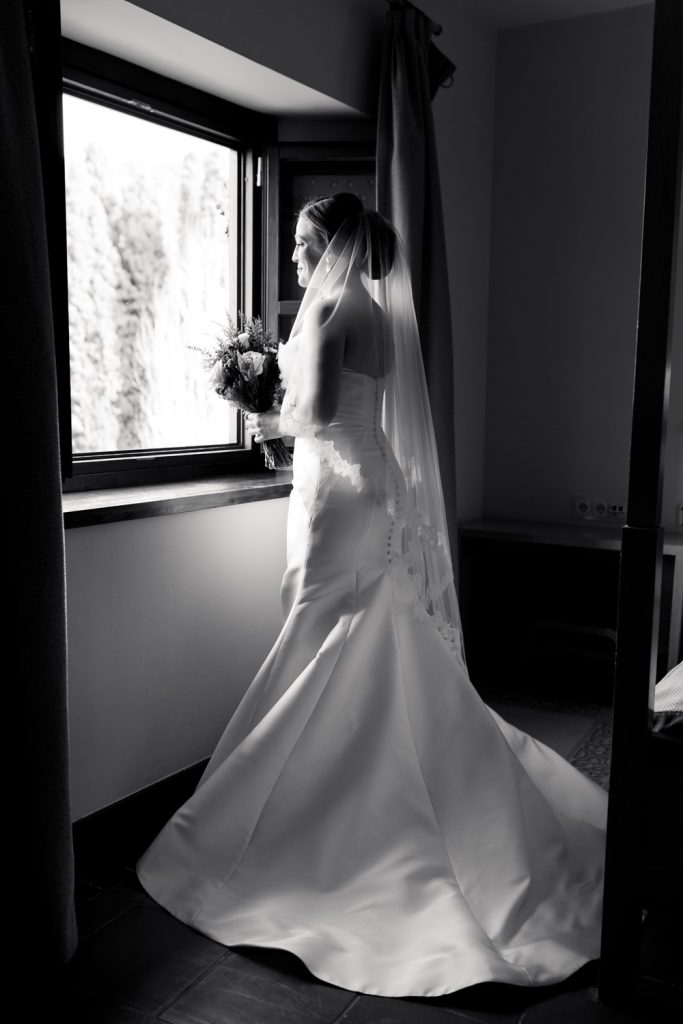 AWOL Granada, Wedding Planners, Spain, Parador de Granada, The bride