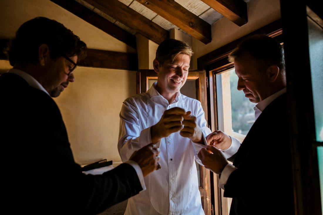 Awol Granada Wedding Planner Spain - Groom Preparations