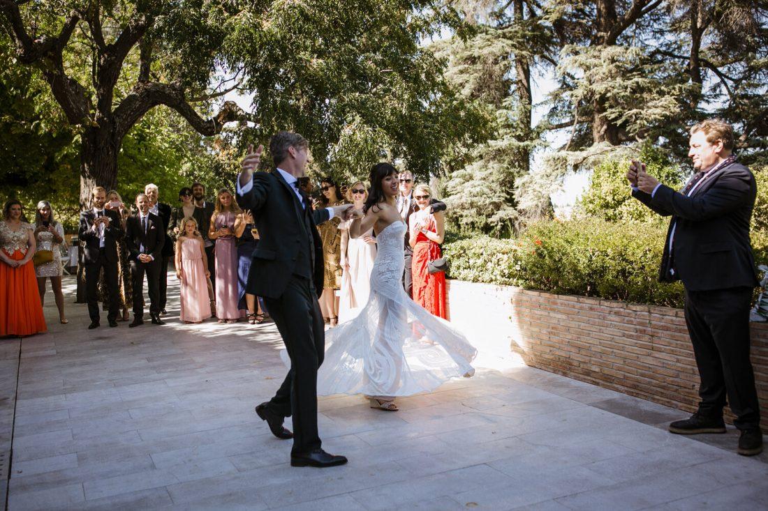 Beautiful First Dance - Awol Granada Wedding Planner Spain