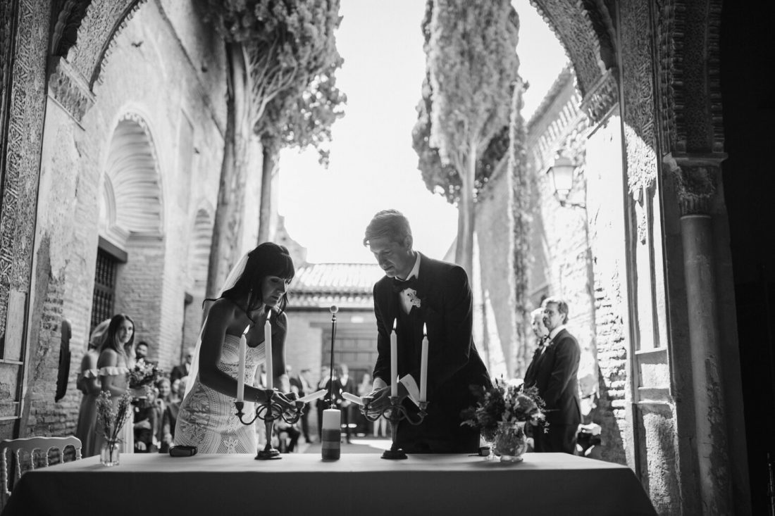 Candle Lighting Ceremony - Awol Granada Wedding Planner Spain