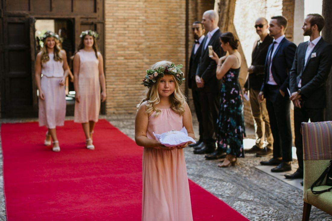 Flower-girls-and-ring-bearer-Awol-Granada-Wedding-Planner-Spain