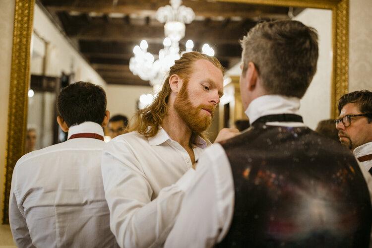 Groom Preparations AWOL - Wedding Planner, Granada, Spain