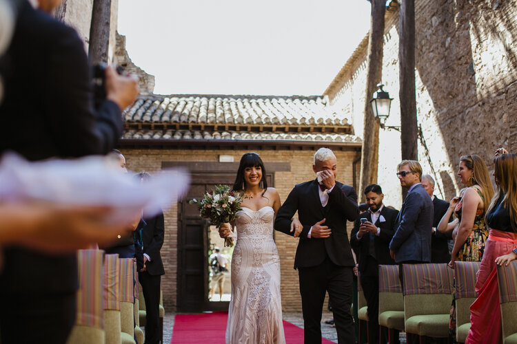 Here comes the bride! AWOL - Wedding Planner, Granada, Spain
