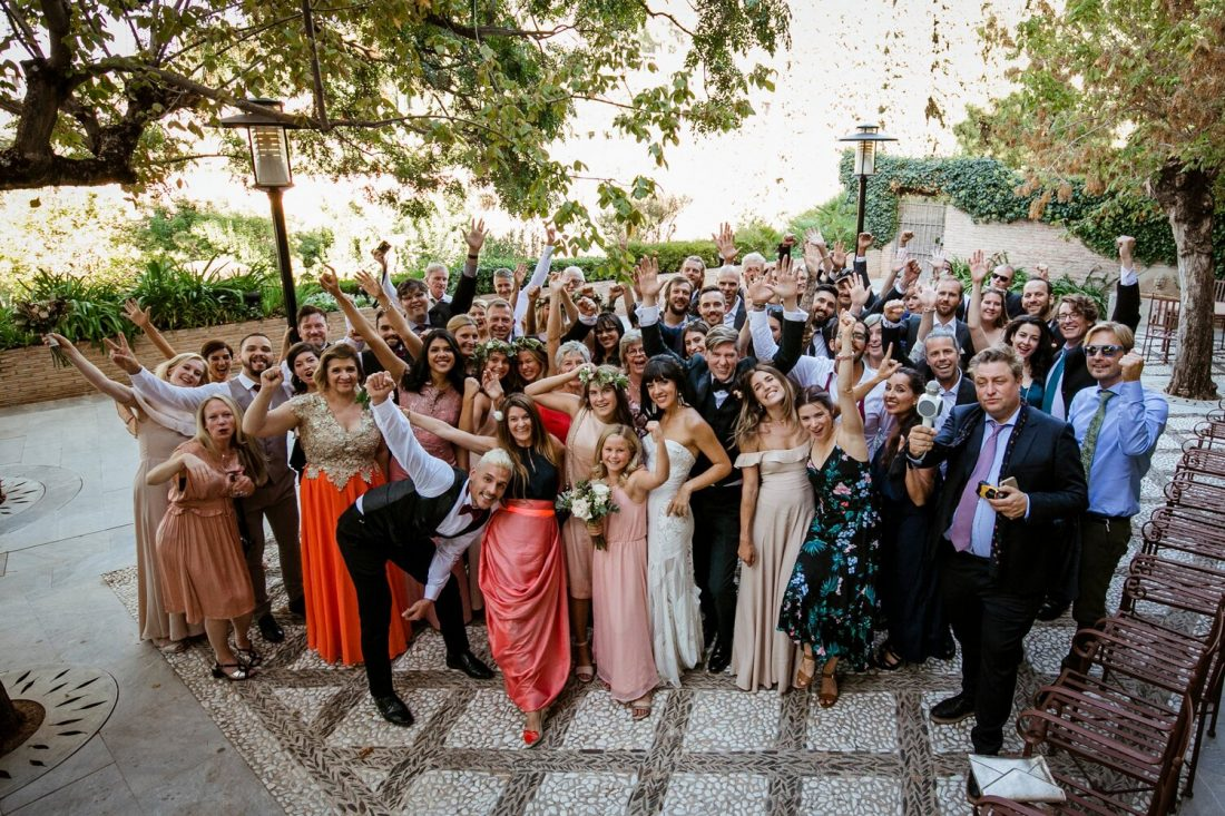 The Wedding Party - AWOL Granada Wedding Planner Spain