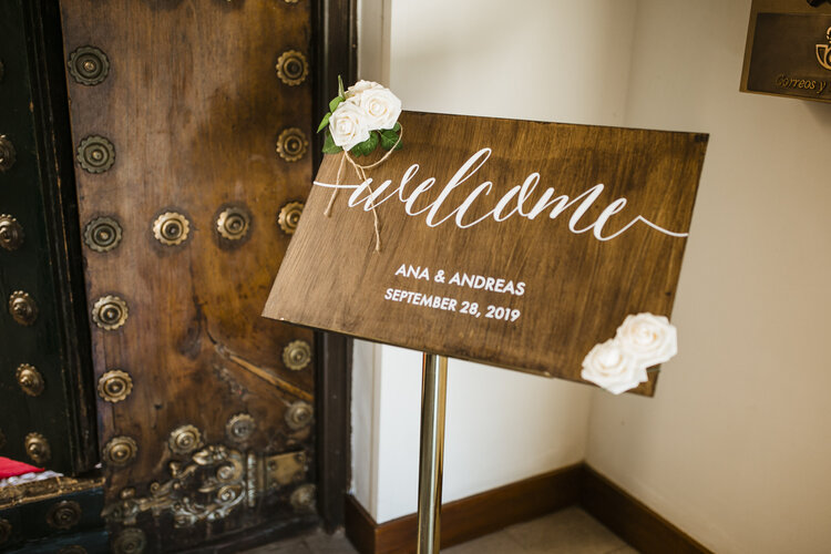 Welcome to the wedding of Ana & Andreas AWOL - Wedding Planner, Granada, Spain