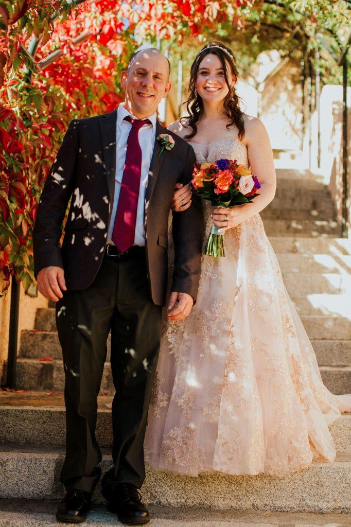 The Bride & her Dad.