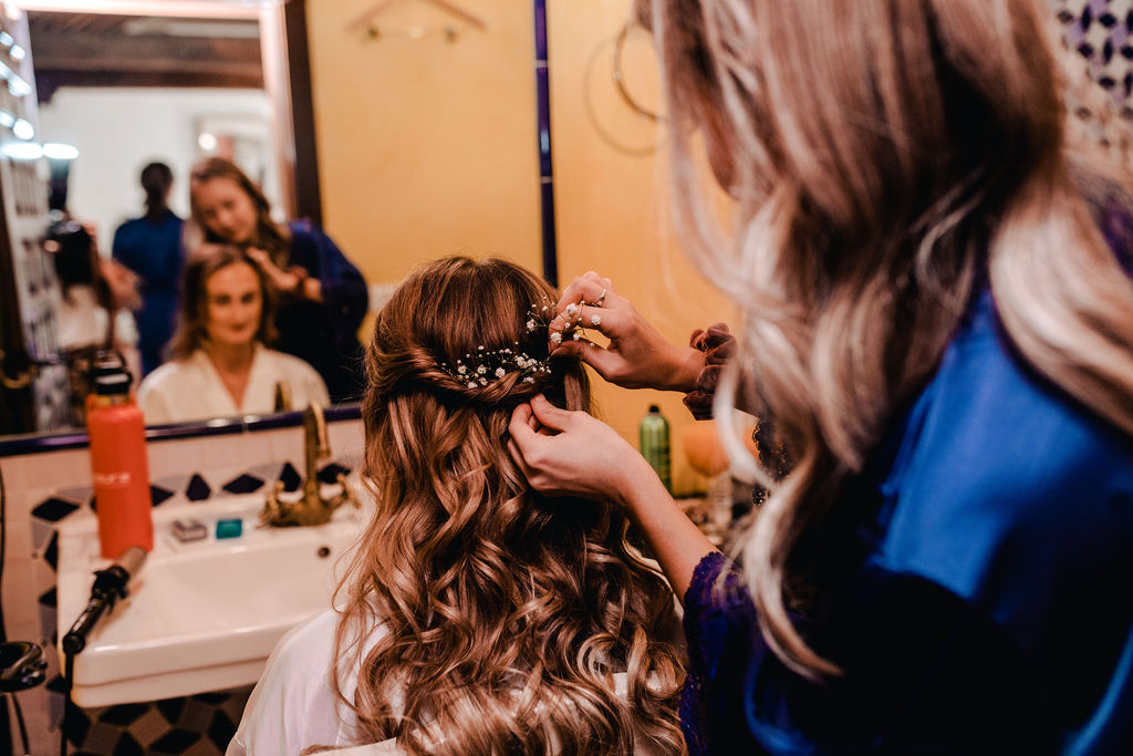 Bridal Hair - AWOL Granada Wedding Planner Spain