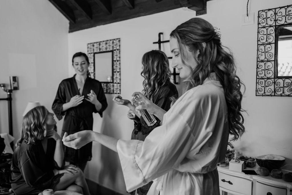 Bridal Preparations - AWOL Granada Wedding Planner Spain