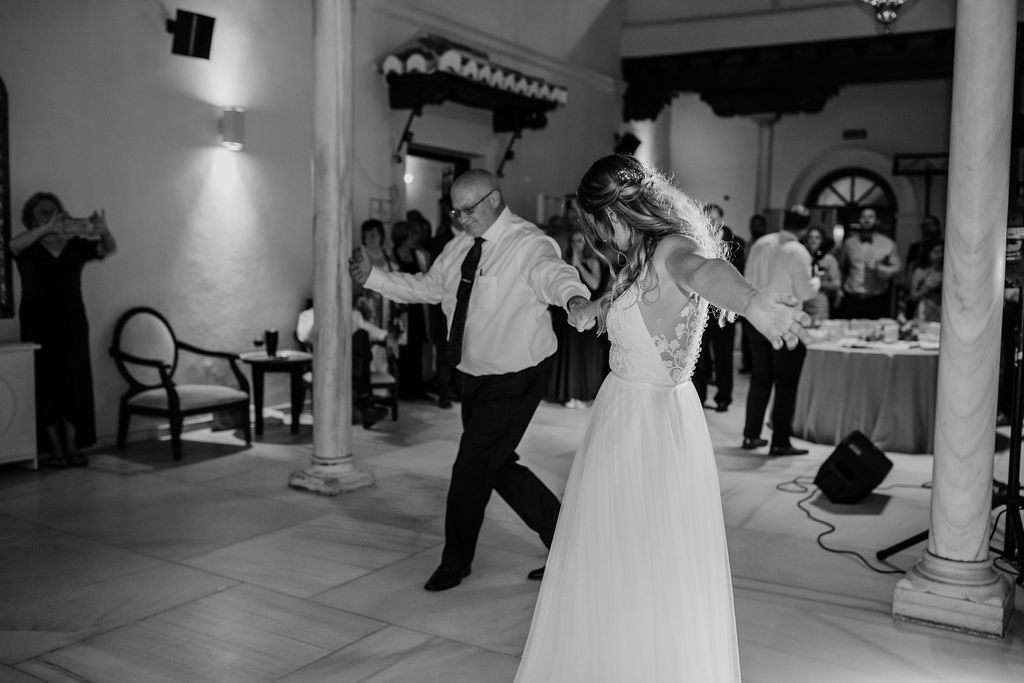 Father daughter dance - AWOL Granada Wedding Planner Spain
