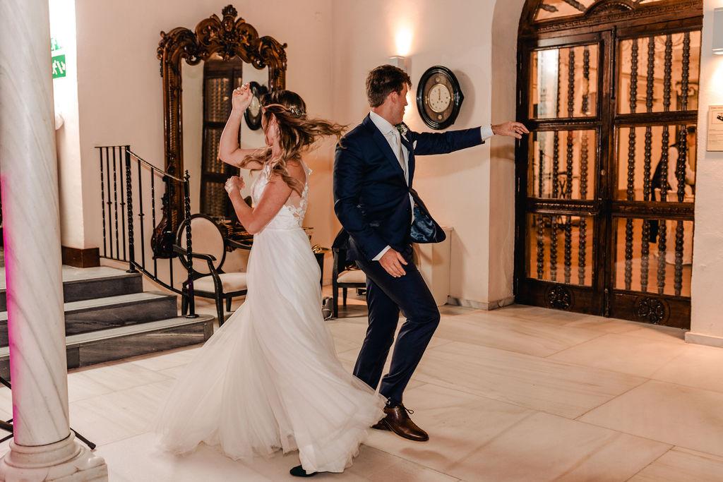 First Dance - AWOL Granada Wedding Planner Spain