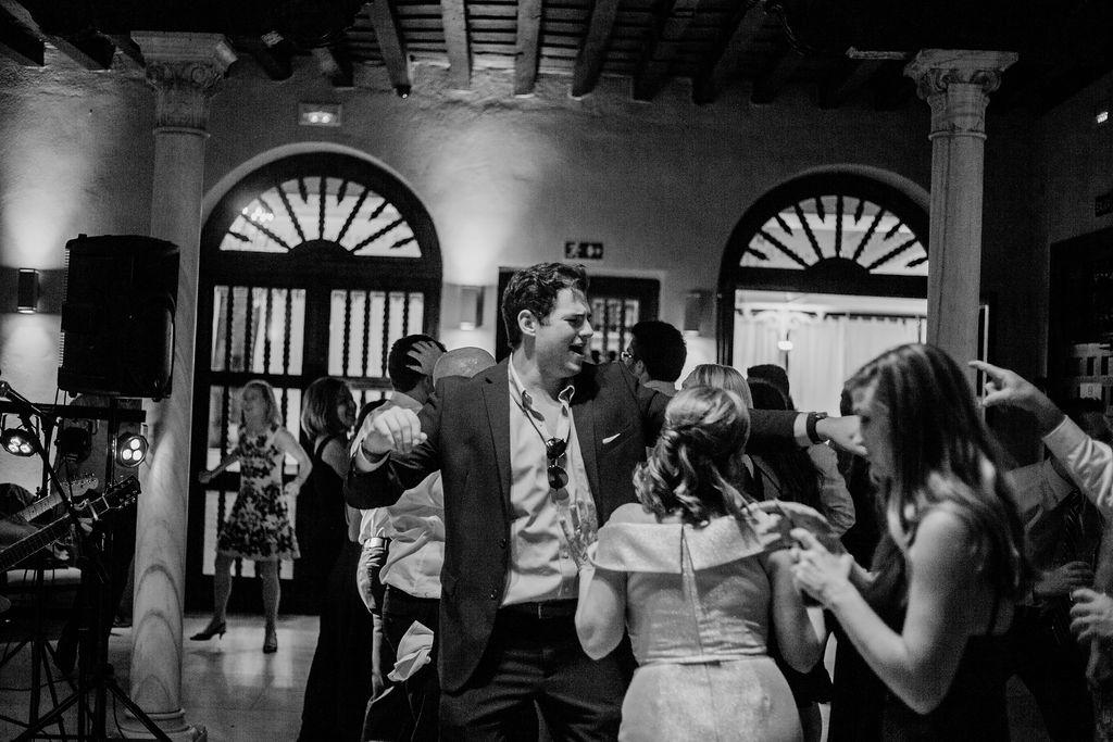 Getting down on the dance floor - AWOL Granada Wedding Planner Spain