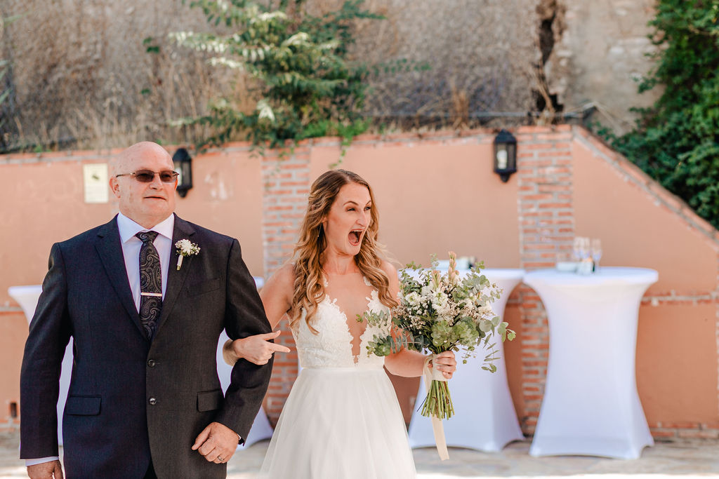 Happiest bride ever! - AWOL Granada Wedding Planner Spain