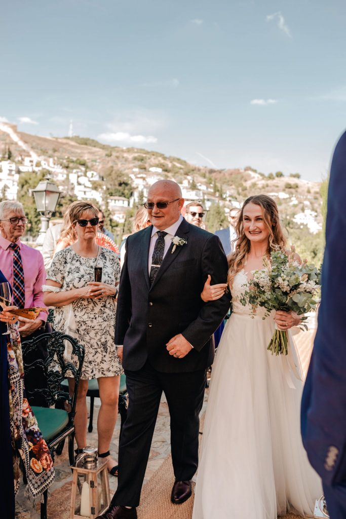 Here comes the Bride - AWOL Granada Wedding Planner Spain