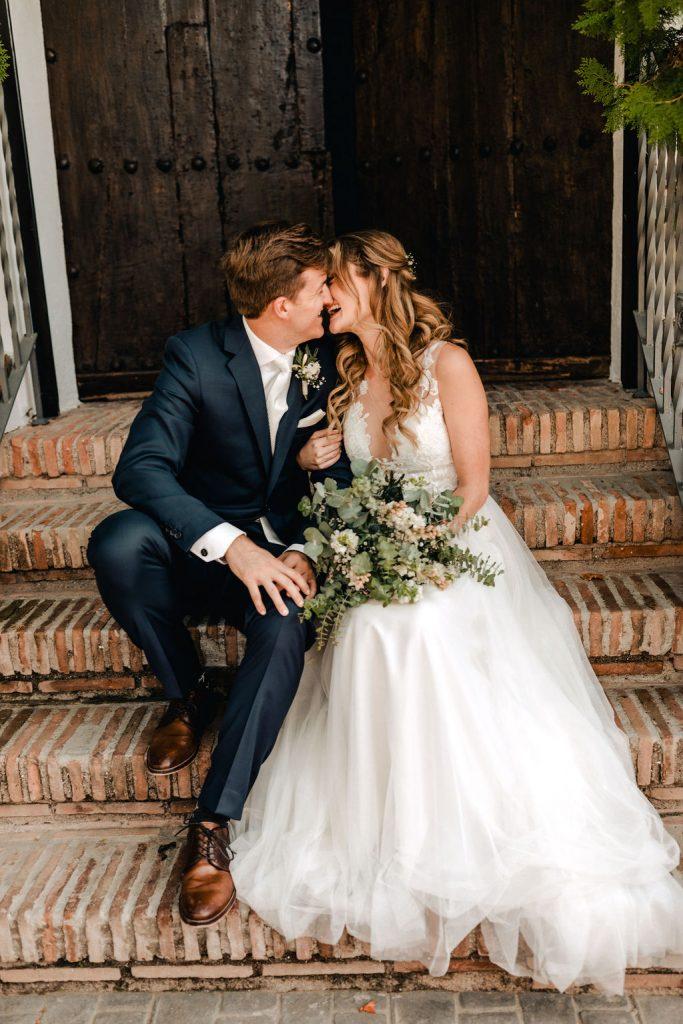 Sweet bride and groom - AWOL Granada Wedding Planner Spain