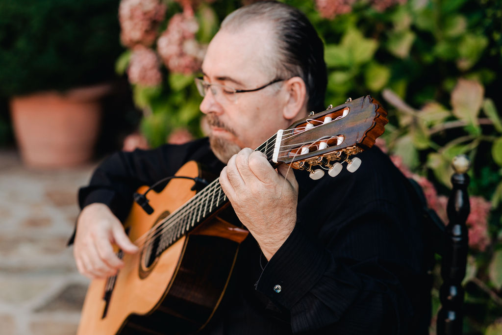 The Guitarist Armando - AWOL Granada Wedding Planner Spain