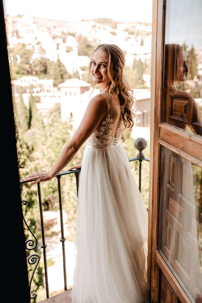 The beautiful bride - AWOL Granada Wedding Planner Spain