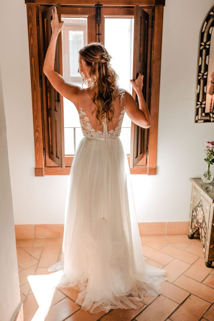 The wedding dress - AWOL Granada Wedding Planner Spain