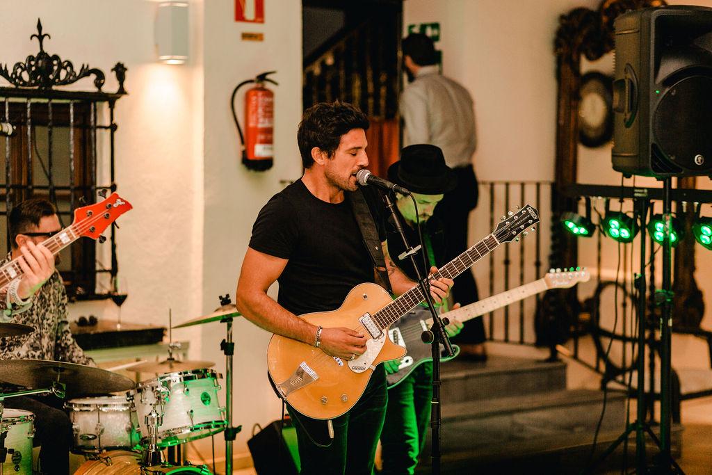 Wall Street Band - AWOL Granada Wedding Planner Spain