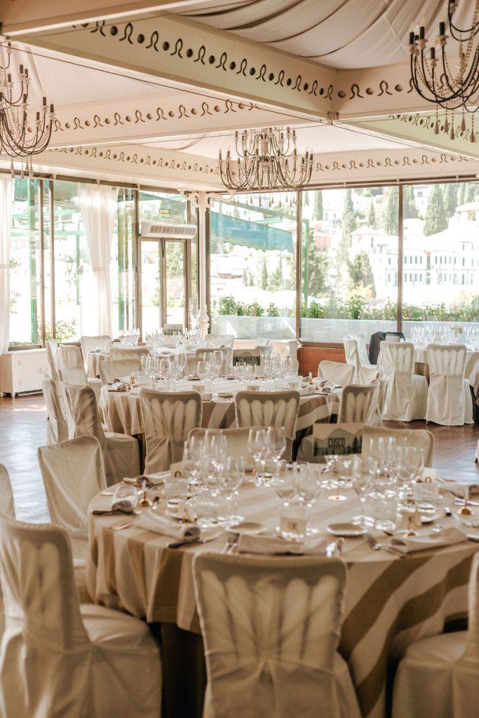 Wedding Reception set up - AWOL Granada Wedding Planner Spain