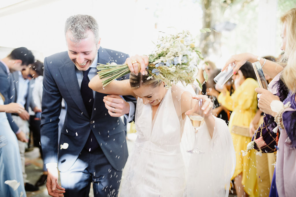 Confetti Shower - AWOL Granada, Wedding Planner, Spain