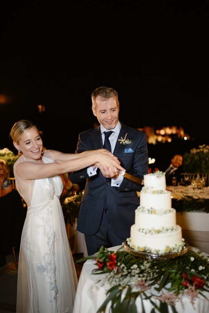 Cutting of the Cake - Wedding Planner, AWOL Granada, Spain