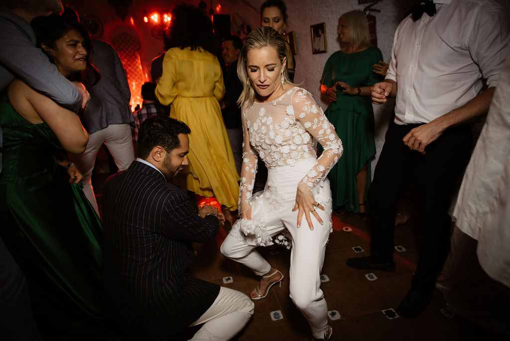 Dancing the night away - Wedding Planner, AWOL Granada, Spain