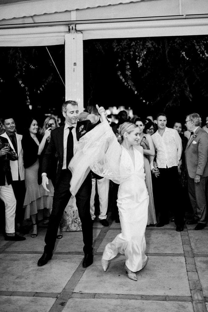 First Dance on the terrace - Wedding Planner, AWOL Granada, Spain