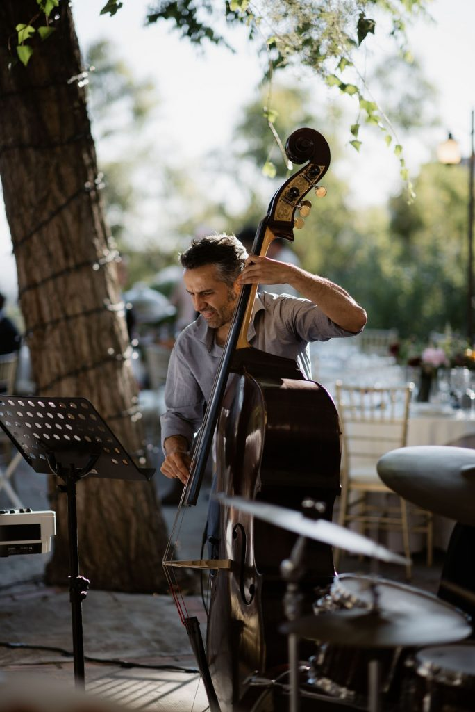 Musicians at la Chumbera - AWOL Granada, Wedding Planner, Spain