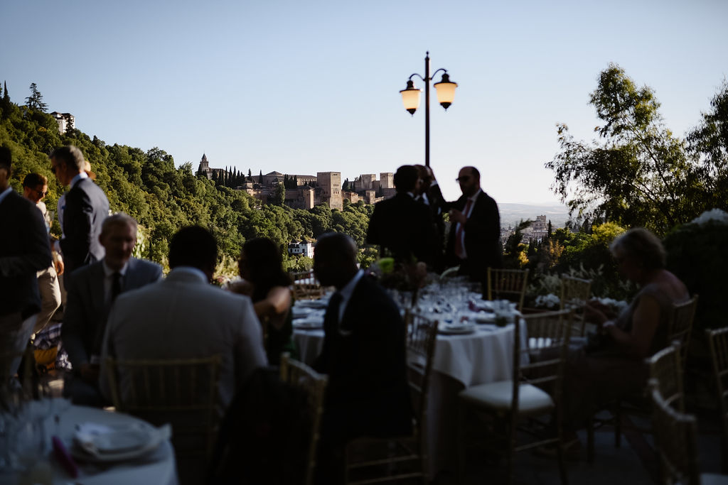 Sunset dinner - AWOL Granada, Wedding Planner, Spain