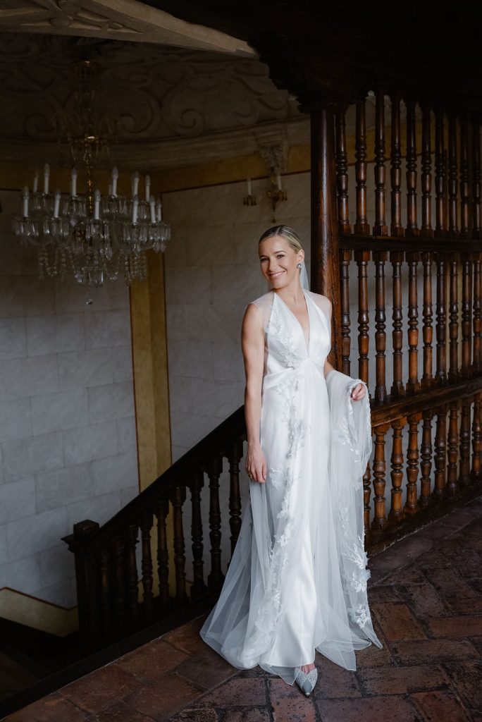 The Beautiful bride at the Hotel Casa 1800 - Wedding Planner, Granada, Spain