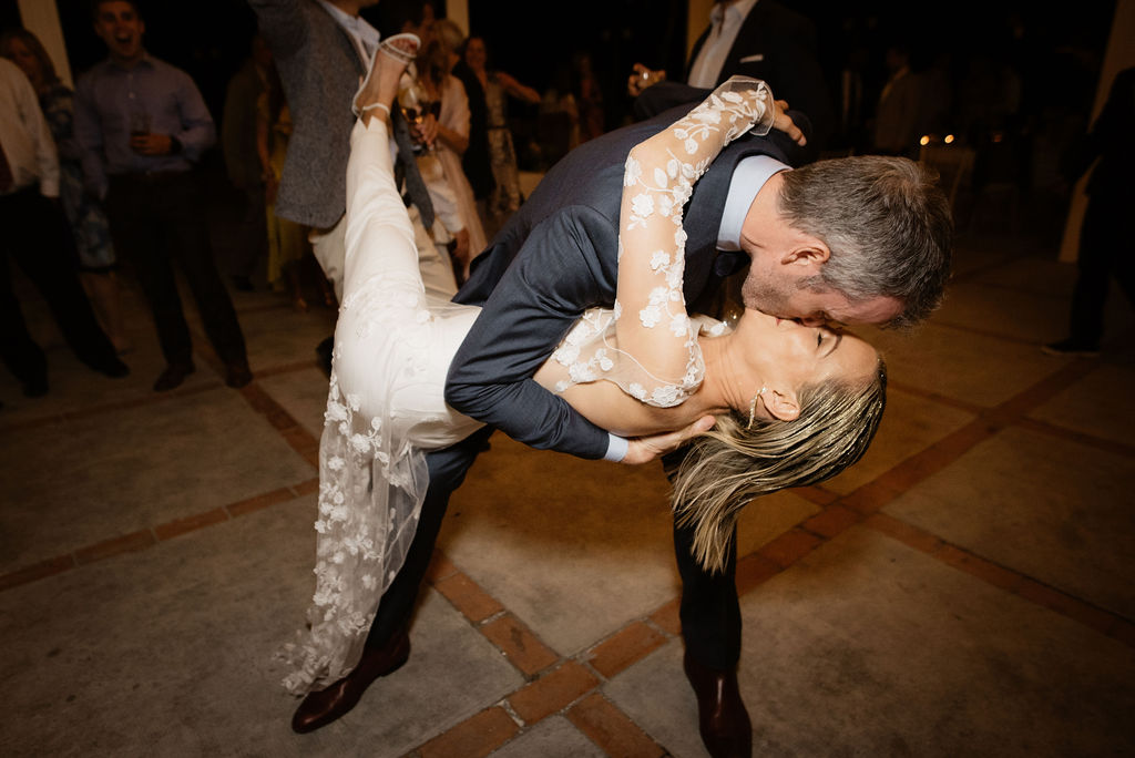 The bride and groom on the dance floor - Wedding Planner, AWOL Granada, Spain