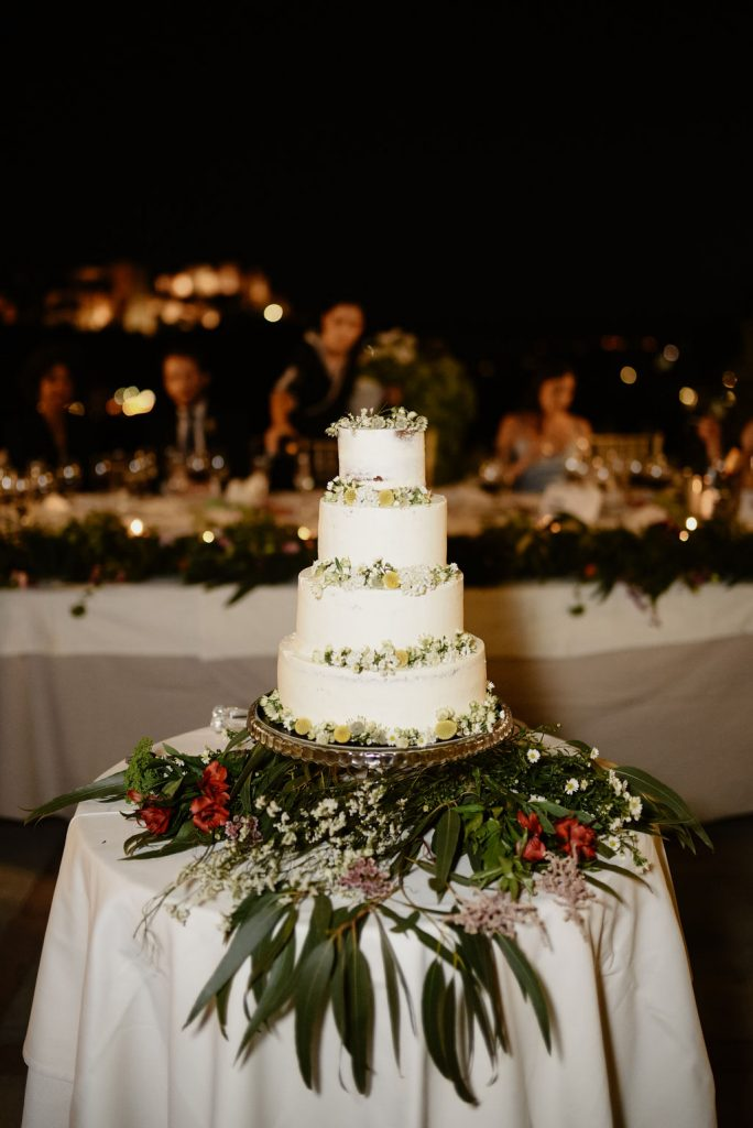 The wedding cake - Wedding Planner, AWOL Granada, Spain
