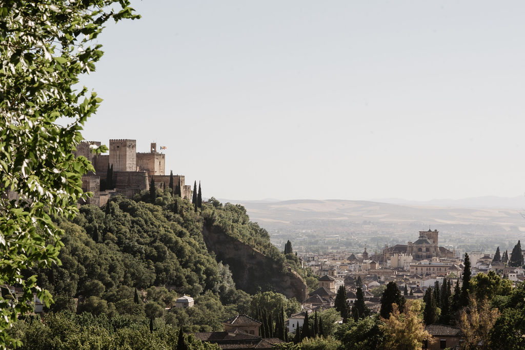 View from La Chumbera - AWOL Granada, Wedding Planner, Spain